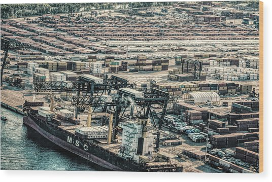 Port Everglades 2 Wood Print