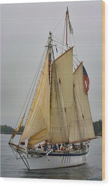 Port Side Wood Print