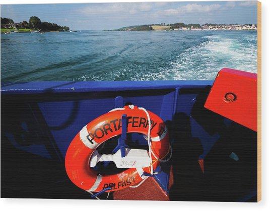 Portaferry Ferry Wood Print
