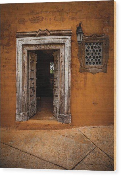 Portal Wood Print by Carl Chick