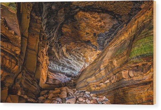 Portal Wood Print by Joseph Smith