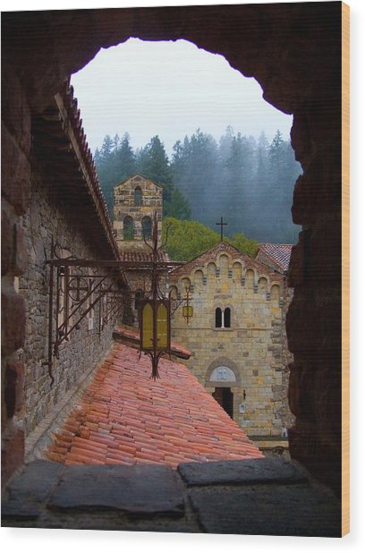 Portal To The Past Wood Print by Sarah Le Feber