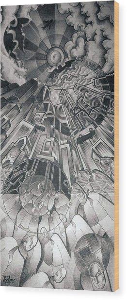 Portals Wood Print by Myron  Belfast