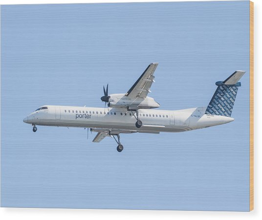 Porter Airlines Wood Print