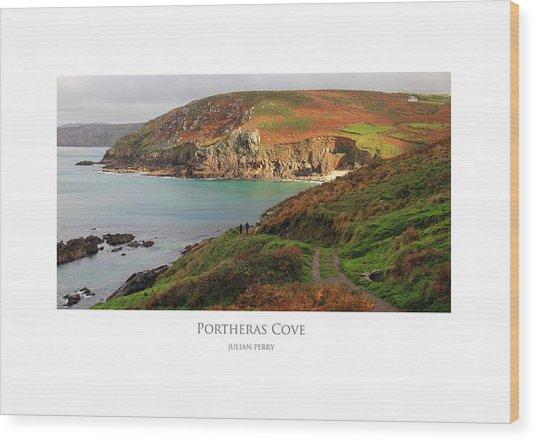 Portheras Cove Wood Print