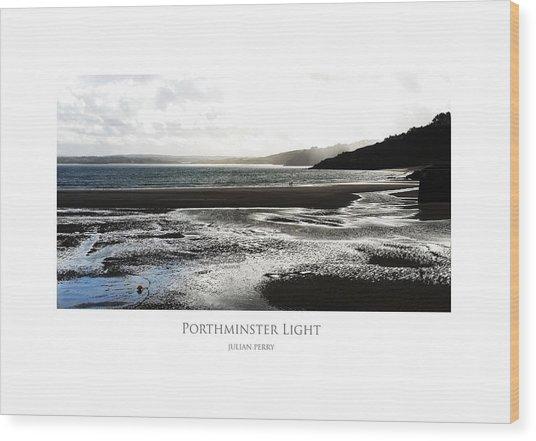 Porthminster Light Wood Print
