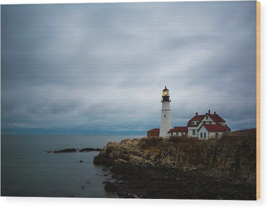 Portland Head Light 2 Wood Print