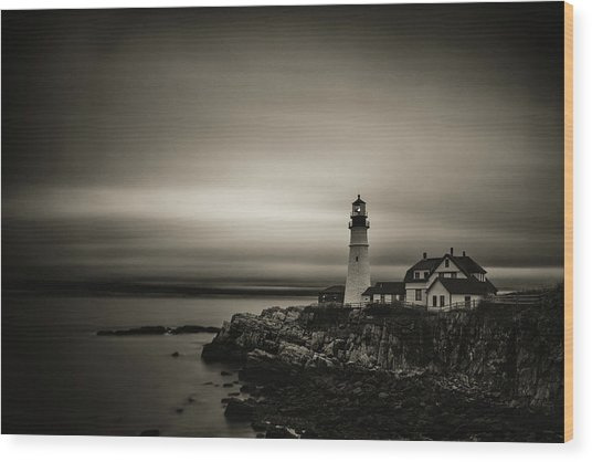 Portland Head Light 3 Wood Print