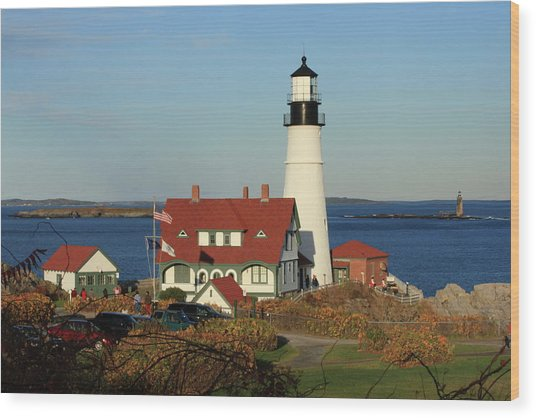 Portland Head Lighthouse 2 Wood Print