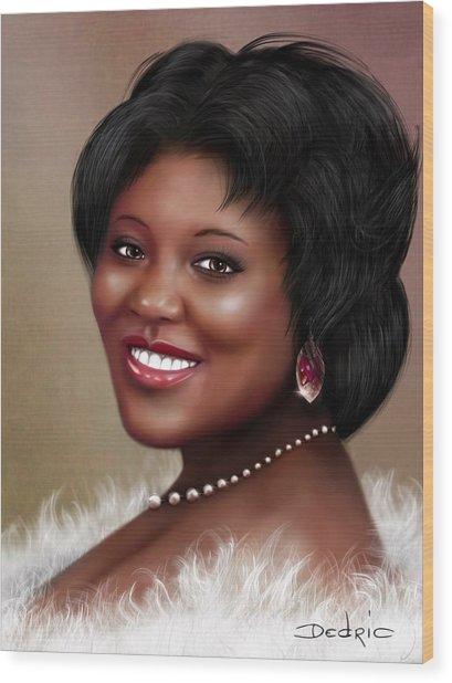 Portrait Commision  Wood Print