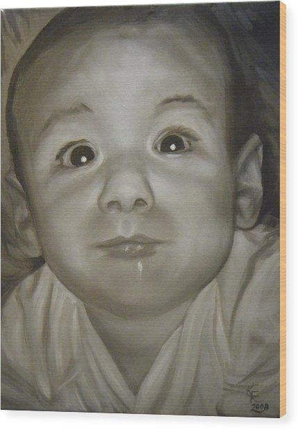 Portrait Commission Wood Print