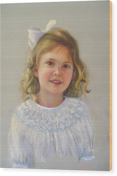 Portrait Of Amy Wood Print by Melanie Miller Longshore