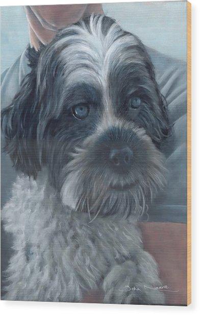 Portrait Of Charley Wood Print