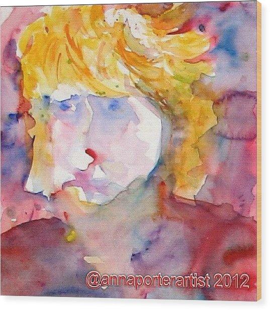 Portrait Of Graham Wood Print