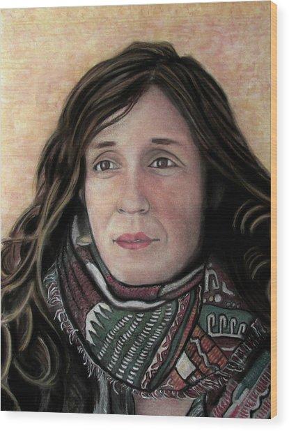 Portrait Of Katy Desmond, C. 2017 Wood Print