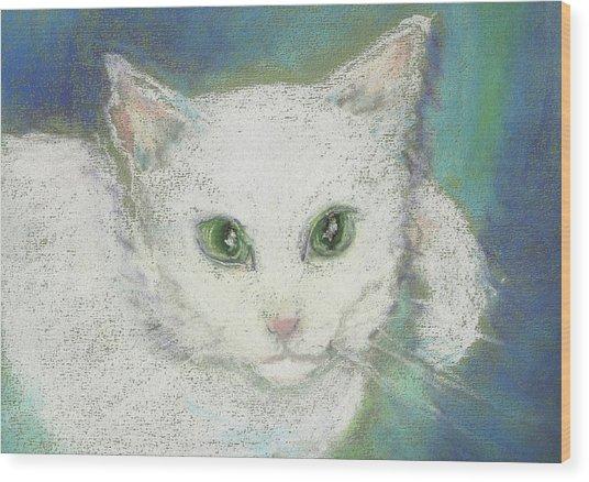 Portrait Of Misty Wood Print