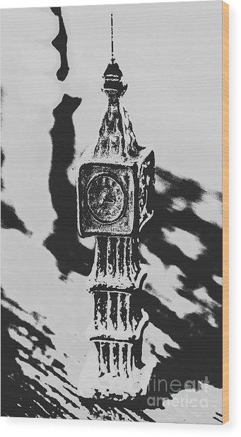 Postcards From Big Ben  Wood Print