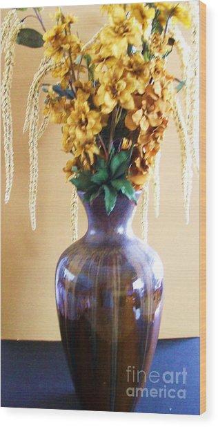 Pot Of Gold Wood Print by Marsha Heiken