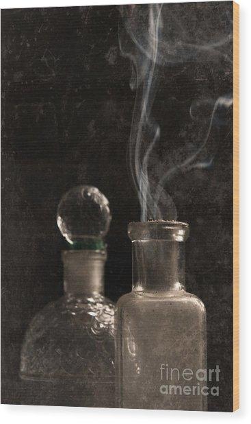 Potions Wood Print