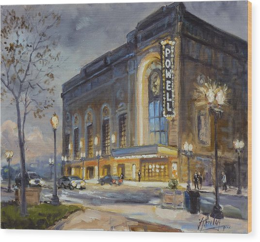 Powell Symphony Hall In Saint Louis Wood Print