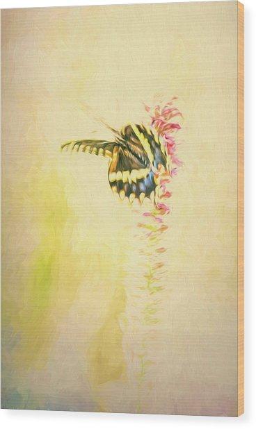 Prairie Butterfly 3 Wood Print
