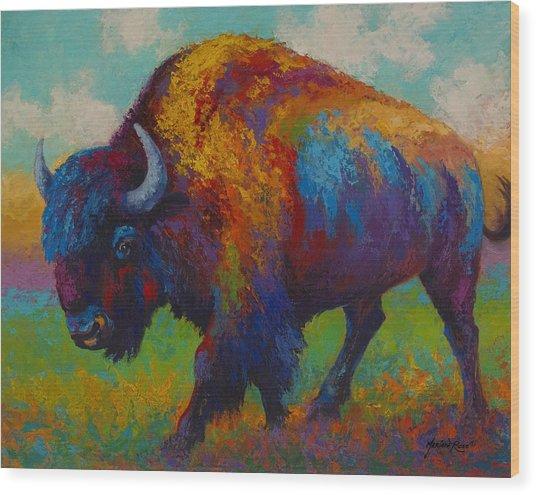Prairie Muse Wood Print