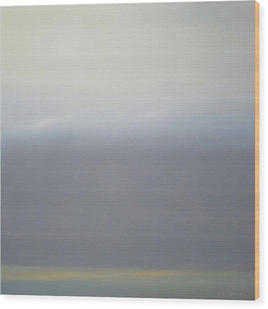 Prairie Winter Sold Wood Print