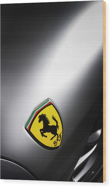 Wood Print featuring the photograph Prancing Horse by ItzKirb Photography