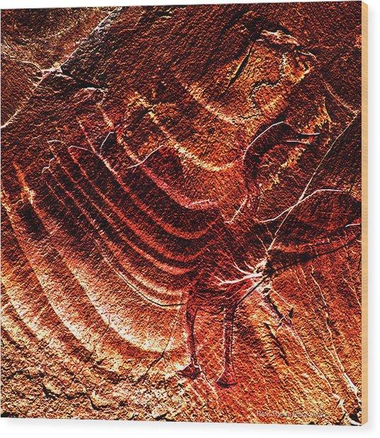 Prehistoric Bird Wood Print