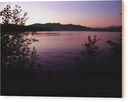 Preist Lake Sleeping Wood Print