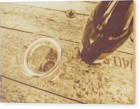 Premium Ciders Wood Print