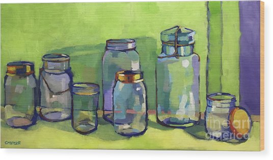 Preserving Color Wood Print by Catherine Martzloff