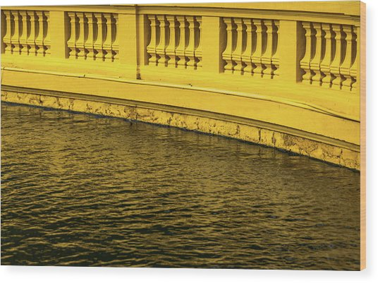 Presidential Palace Wood Print