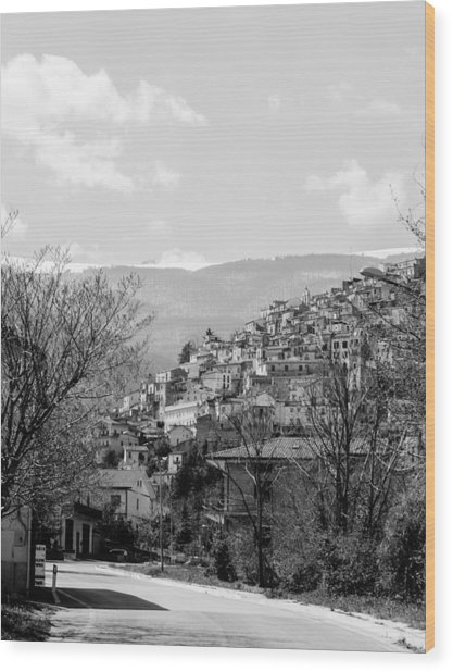 Pretoro - Landscape Wood Print