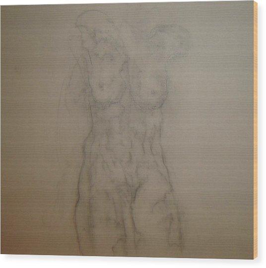 Pretty Soon Wood Print by Dean Corbin