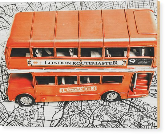 The Pride Of London Wood Print