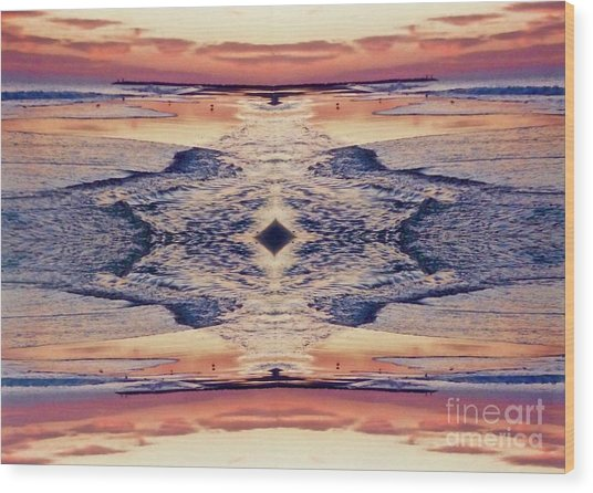 Primordial Passage Wood Print