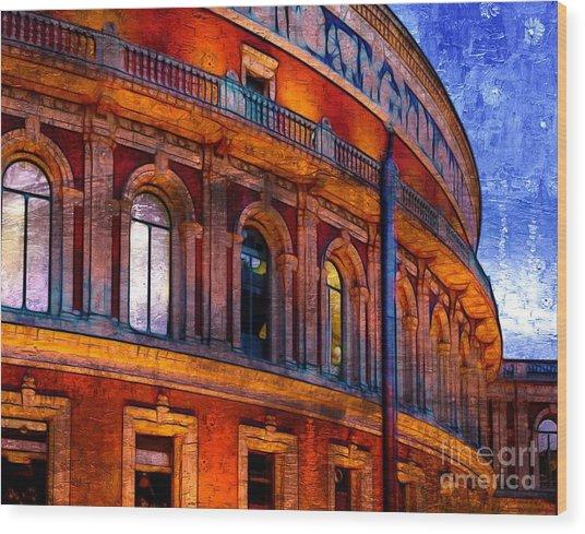 Royal Albert Hall, London Wood Print