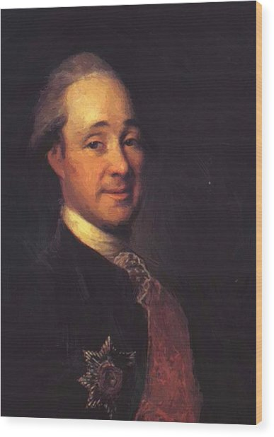 Prince Mikhail Shcherbatov 1781 Wood Print