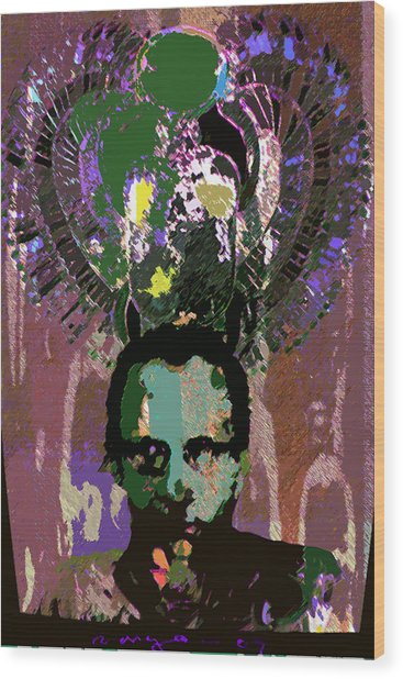 Prince Of The Nile 2 Wood Print by Noredin Morgan