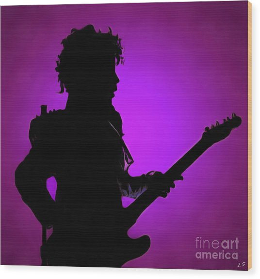 Prince Rogers Nelson Wood Print