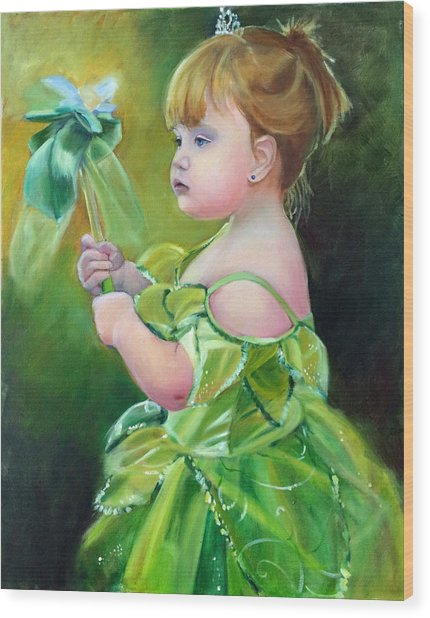 Princess Addie Wood Print