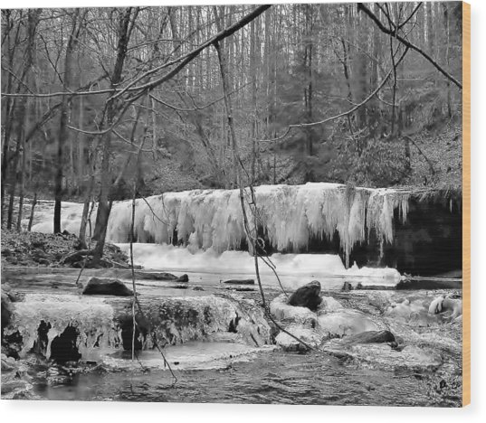 Princess Falls Wood Print