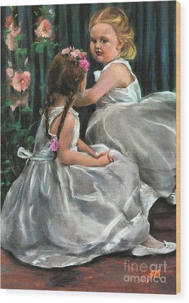 Princesses Wood Print
