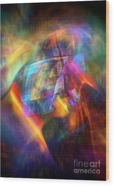 Prism Wood Print