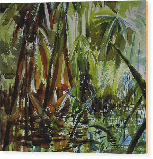 Pristine Waters Wood Print