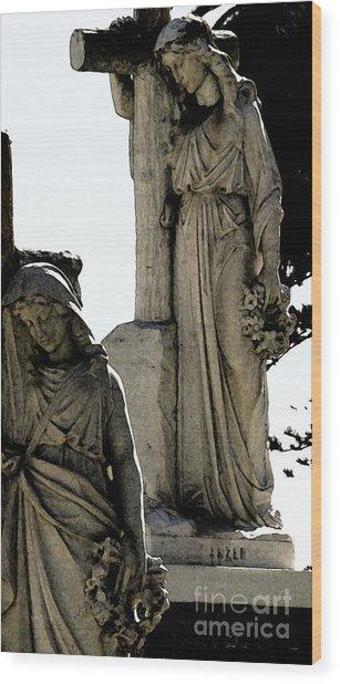 Procession Of Faith Wood Print