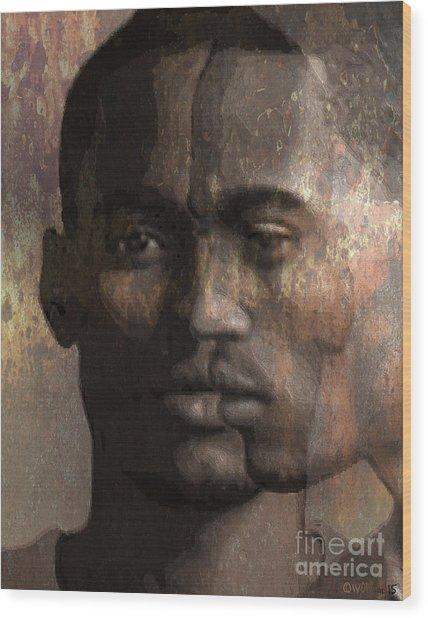 Profile In Bixby Wood Print