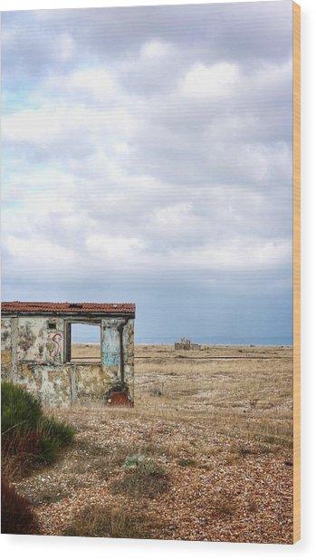 Projekt Desolate Block Wood Print by Stuart Ellesmere