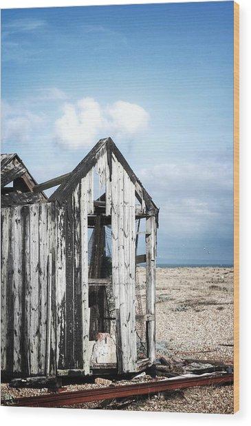 Projekt Desolate Safehouse Wood Print by Stuart Ellesmere